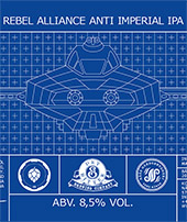 REBEL ALLIANCE ANTI IMPERIAL IPA 60