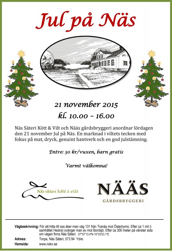 Jul på Näs, inbjudan